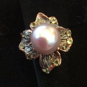 Magnificent Genuine Pearl Ring